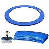 Hengda Trampolin Randabdeckung, Ø 244 Blau, 100% UV-beständig, Federabdeckung Randschutz aus PVC PE für Trampolin,30cm Breit