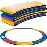 Arebos Trampolin Randabdeckung Federschutz   183, 244, 305, 366, 396, 457 oder 487 cm   aus PVC und PE   Reißfest   100% UV-beständig   Mehrfarbig (Mehrfarbig, 305 cm)