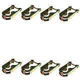 Markenlos Trampolin 8 x Klammern Befestigungsklammern Befestigung für Netz 4 Stangen