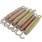 Jumptastic Trampolinfedern 178 mm 10 Stück Ersatzfeder aus Verzinktem Stahl Federset Lange haltbar 17,8 cm