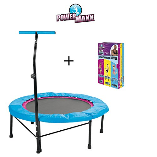 TV Unser Original POWER MAXX Fitness-Trampolin inkl. DVDs