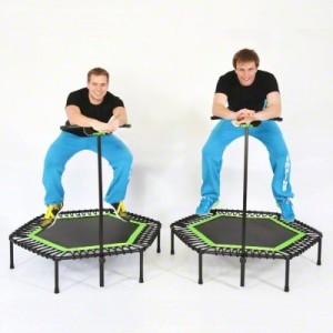 Jumping Profi Fitness Trampolin Spaß