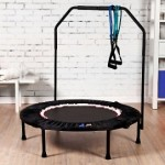 MaXimus Pro Falt Rebounder Mini-Trampolin (inkl. Workout-DVD)