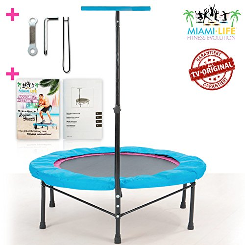 miami life fitness evolution fitness trampolin tv originaltrampolin im. Black Bedroom Furniture Sets. Home Design Ideas