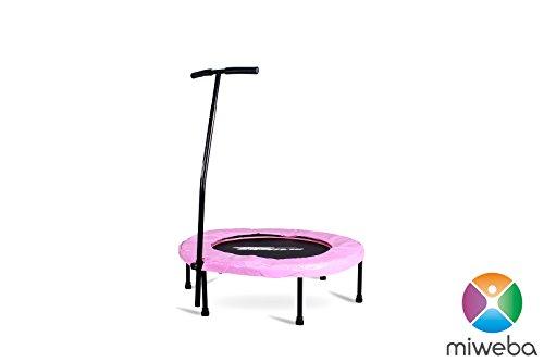 miweba jumpness fitness trampolin round 40 39 trampolin im. Black Bedroom Furniture Sets. Home Design Ideas
