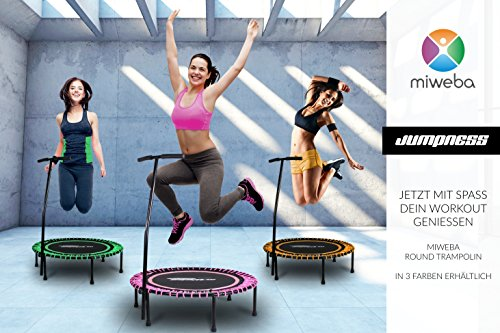 Miweba JUMPNESS Fitness Trampolin Round 40′