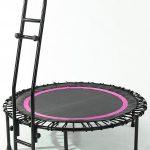 Joka Fit Fitnesstrampolin, »Cacau«, schwarz-pink