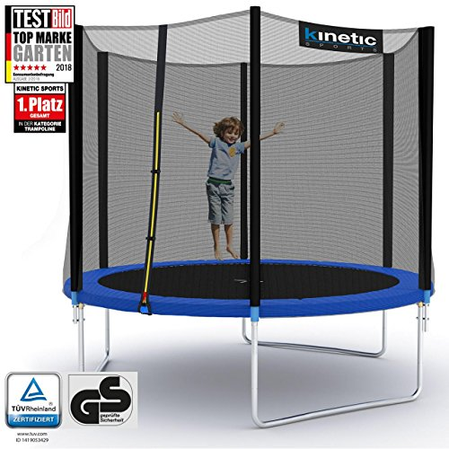 Kinetic Sports Trampolin O 250 Cm Trampolin Im Test De